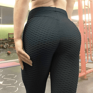 Black Anti Cellulite Leggings