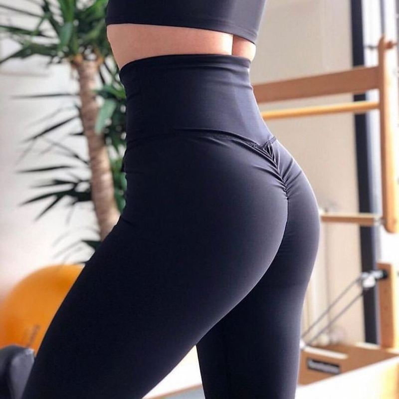 Scrunch High Waist Push Up Leggings