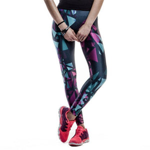 Shaped Printed Leggings - Pain Then Glory