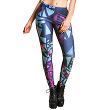 Load image into Gallery viewer, Shaped Printed Leggings - Pain Then Glory