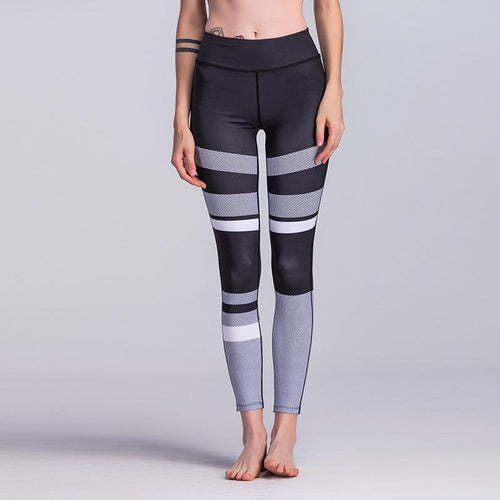 Gray Scale Breathable Leggings - Pain Then Glory