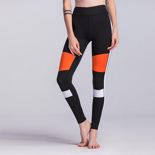 Color Pop Striped Leggings