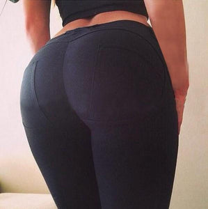 Low Waist Push Up Leggings - Pain Then Glory
