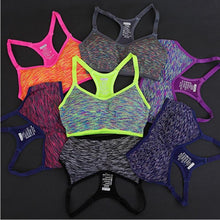 Load image into Gallery viewer, Seamless Multi Colored Padded Sports Bra *Available in Different Colors* - Pain Then Glory
