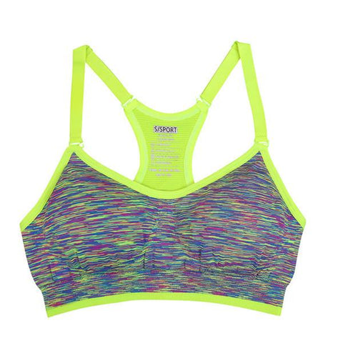 Seamless Multi Colored Padded Sports Bra *Available in Different Colors* - Pain Then Glory