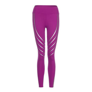 Glow in the Dark Laser Stripe Leggings * LIMITED EDITION * - Pain Then Glory