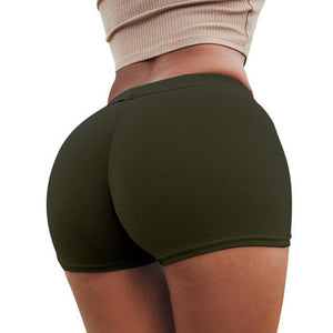NEW High Waist Booty Push Up Workout Shorts