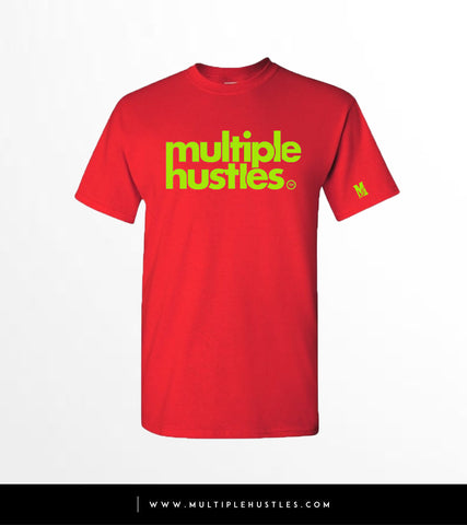 MH Red/Lime Green Trademark Tee