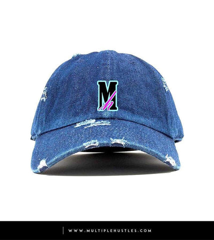 """Miami Vice"" Distressed Dad Hat"
