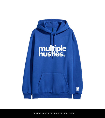 MH Royal Blue/White Trademark Hoodie