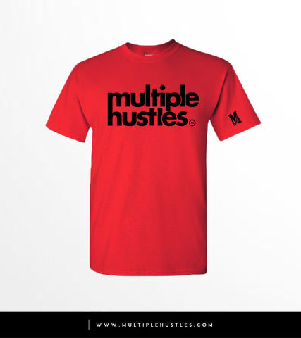 MH Red/Black Trademark Tee