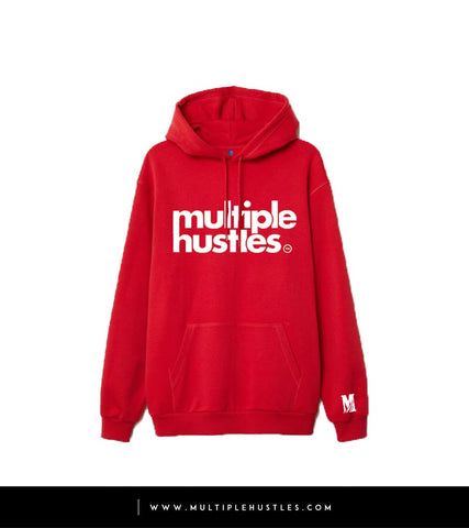 MH Red/White Trademark Hoodie