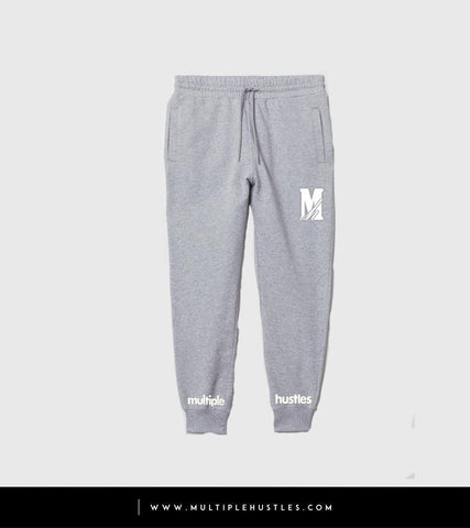 MH Grey/White Sweatpants