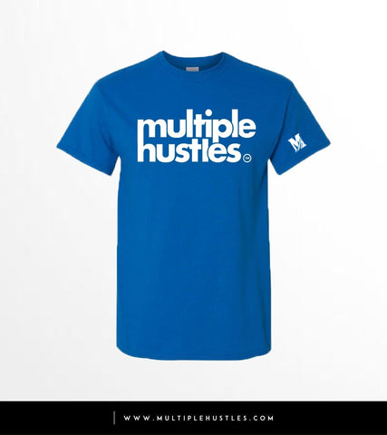 MH Royal Blue/White Trademark Tee