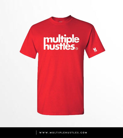MH Red/White Trademark Tee