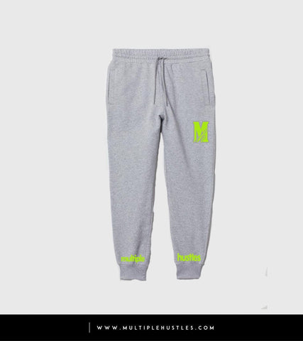 MH Grey/Lime Green Sweatpants