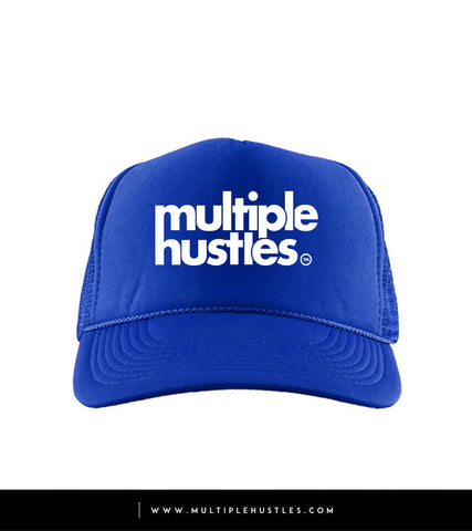 "Royal Blue/White ""Trucker"" Hat"