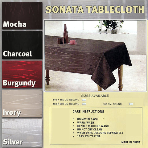 145cm (or 150cm) Round Tablecloth