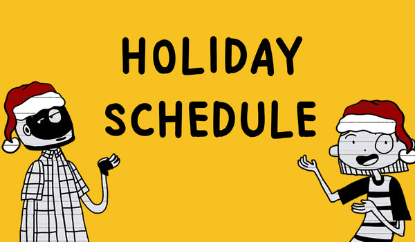 Holiday Schedule - December 2020
