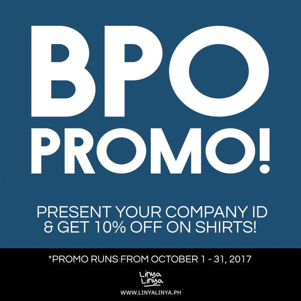 Lodi! Are you part of the BPO industry? We have an exclusive discount for you! #BPOPromo