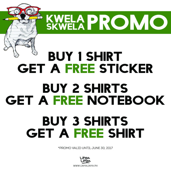 "You can't spell ""Skwela"" without ""Kwela""! #KwelaSkwelaPromo #PromoAlert"