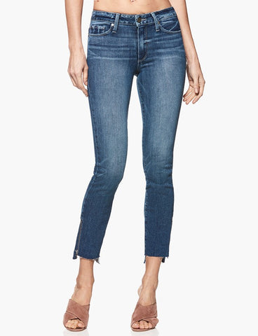 PAIGE DENIM | HOXTON ANKLE PEG MALIBU RAW HEM
