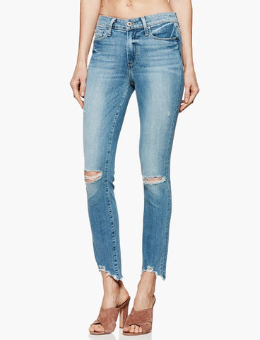 PAIGE DENIM | HOXTON ANKLE PEG JANIS DESTRUCTED