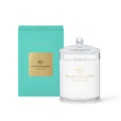 LOST IN AMALFI 380G SOY CANDLE