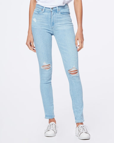 PAIGE DENIM | Margot Skinny Sumner Destructed