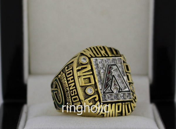 Arizona Diamondbacks 2001 World Series Championship Rings - ringholic  - 4