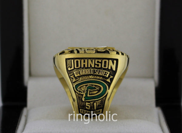 Arizona Diamondbacks 2001 World Series Championship Rings - ringholic  - 3