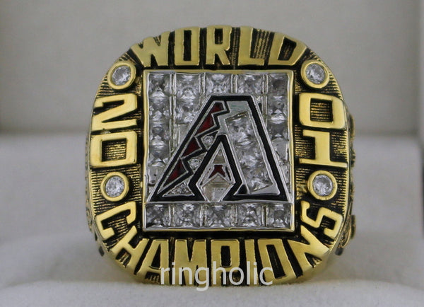 Arizona Diamondbacks 2001 World Series Championship Rings - ringholic  - 1