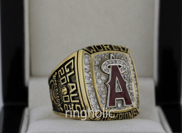 Anaheim Angels 2002 World Series Championship Rings - ringholic  - 4