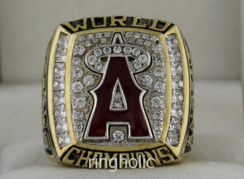Anaheim Angels 2002 World Series Championship Rings - ringholic  - 1