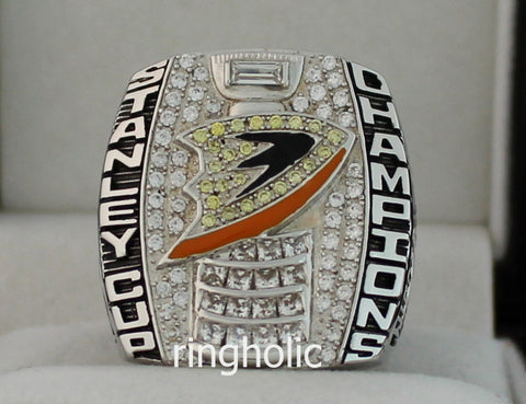 Anaheim Ducks 2007 Stanley Cup Championship Rings - ringholic  - 1