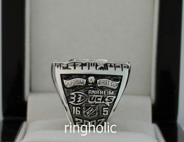 Anaheim Ducks 2007 Stanley Cup Championship Rings - ringholic  - 4