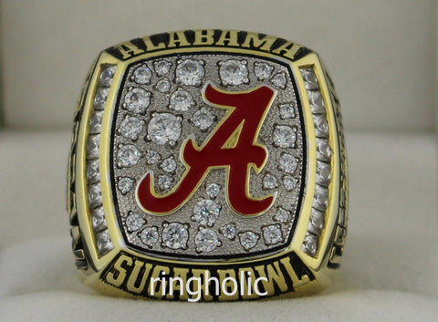 Alabama Crimson Tide Football 2008 SEC West Championship Rings - ringholic  - 1