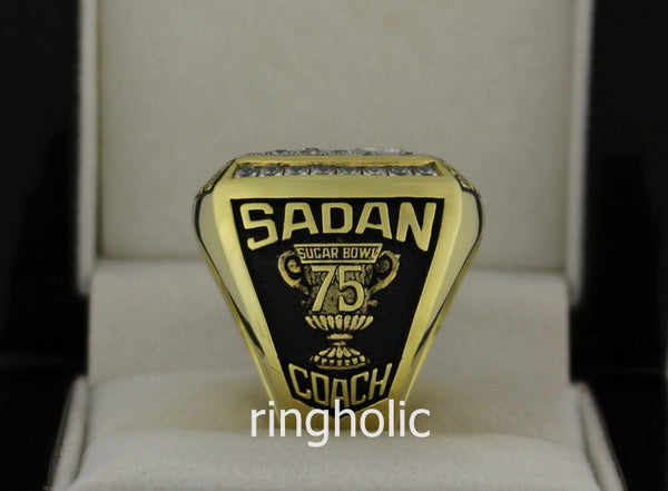 Alabama Crimson Tide Football 2008 SEC West Championship Rings - ringholic  - 4