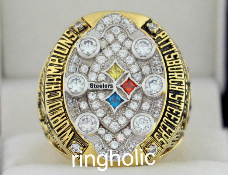 2008 Nfl Super Bowl Xliii Pittsburgh Steelers Championship