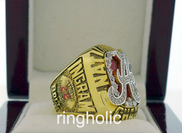 Alabama Crimson Tide Football 2009 National Championship Rings - ringholic  - 2