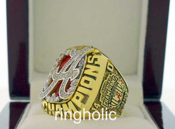 Alabama Crimson Tide Football 2009 National Championship Rings - ringholic  - 3