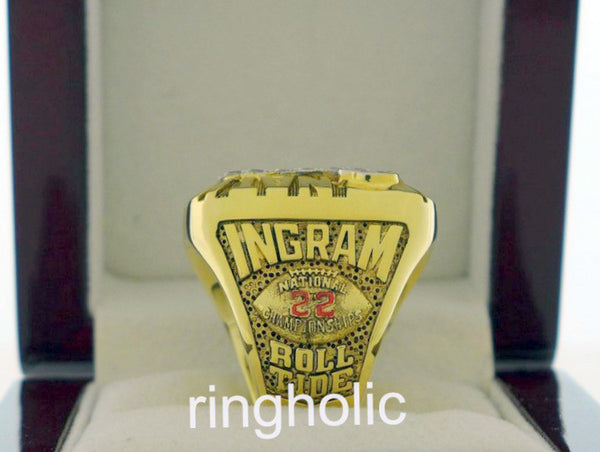 Alabama Crimson Tide Football 2009 National Championship Rings - ringholic  - 4