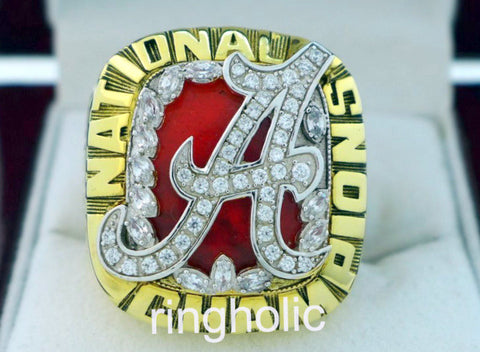 Alabama Crimson Tide Football 2009 National Championship Rings - ringholic  - 1