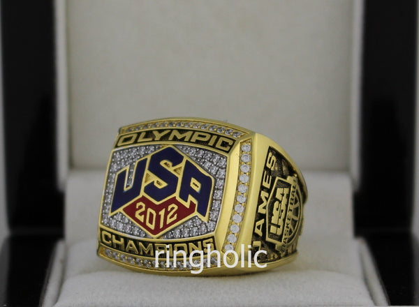 2012 Olympic USA Team Women's Basketball Championship Rings - ringholic  - 2