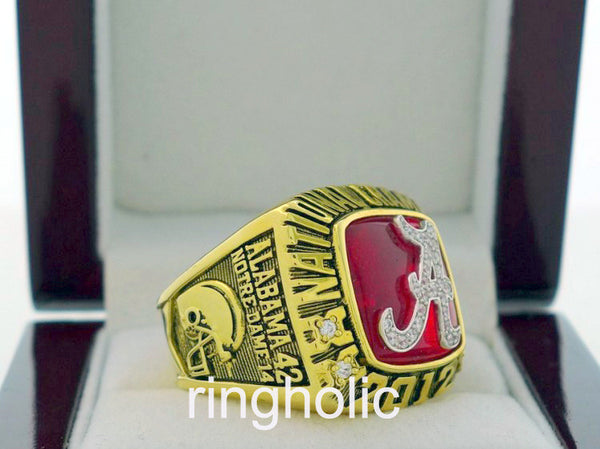 Alabama Crimson Tide 2012 NCAA FAN Rings - ringholic  - 2