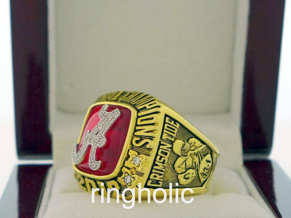 Alabama Crimson Tide 2012 NCAA FAN Rings - ringholic  - 3