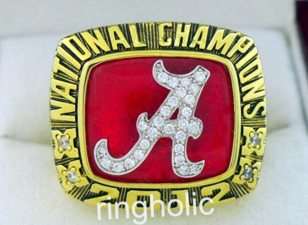 Alabama Crimson Tide 2012 NCAA FAN Rings - ringholic  - 1