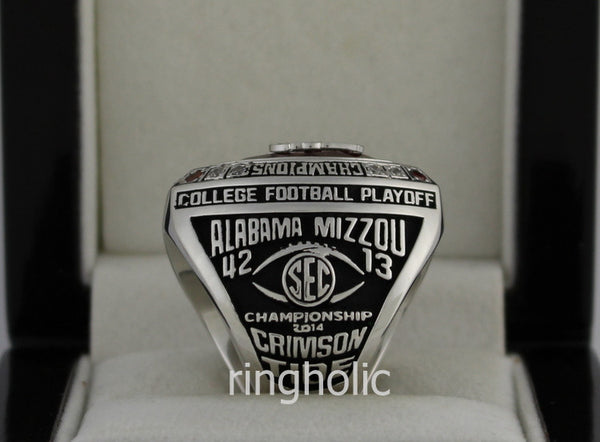 Alabama Crimson Tide Football 2014 SEC Championship Ring - ringholic  - 3