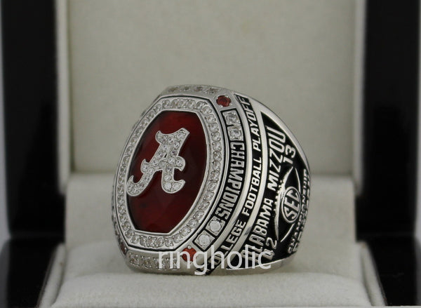 Alabama Crimson Tide Football 2014 SEC Championship Ring - ringholic  - 5
