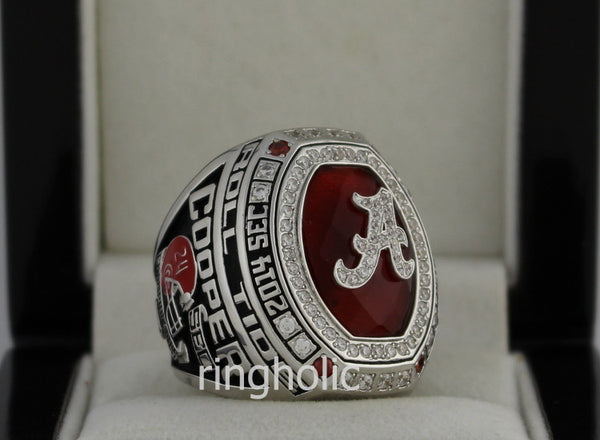 Alabama Crimson Tide Football 2014 SEC Championship Ring - ringholic  - 4